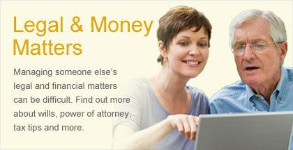 Caregiving Resource Center - Legal & Money Matters