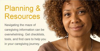 Caregiving Resource Center - Planning & Resources