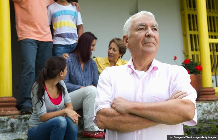 A stubborn man and family, The challenge of receiving help graciously (Jon Feingersh/Blend Images/Getty Images)