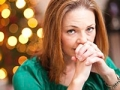 Stressed woman during the holidays, Holiday Tips for Caregivers (iStock)