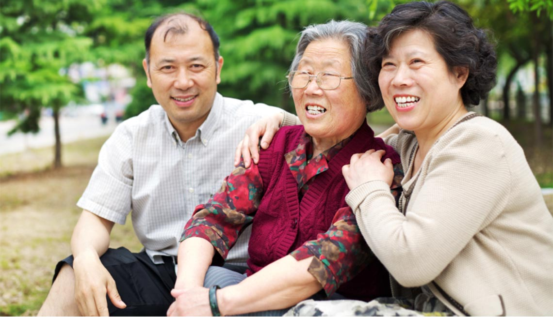Preserving Your Marriage While Helping an Aging Parent,  Mature couple and elderly mother
