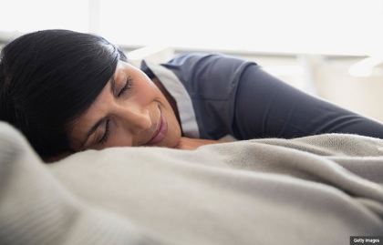 Proper sleep is important for mental and physical health when providing care for a family member. (Getty Images)