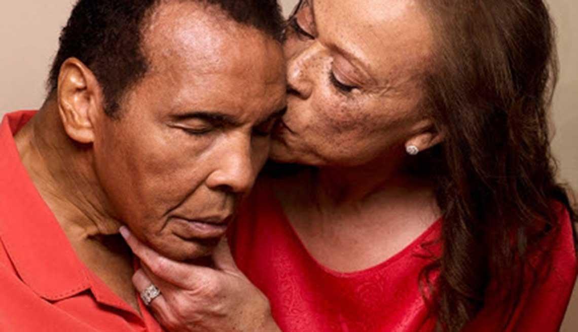Muhammad and Lonnie Ali, caregiving