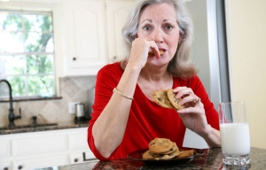 Stress related to caregiving can lead to unhealthy food choices