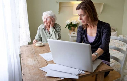 caregiving ask expert housing home care mother daughter computer finances