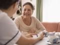 Enfermera explicando la medicación a su paciente, Importancia de Cuidado