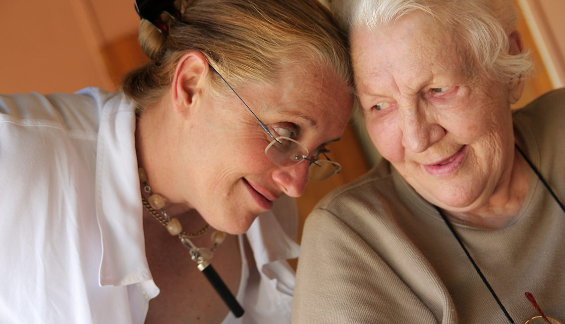 CRC Column: The Pros and Cons of Denial, The empathy you extend to an aging parent can ease the acceptance of unwanted change.