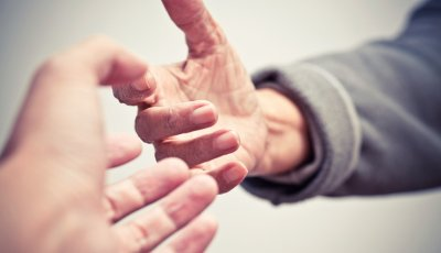 Caregiver Friend Tips Advice Help Hands Reaching Out