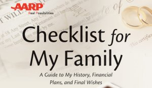 AARP's Book Checklist for my family