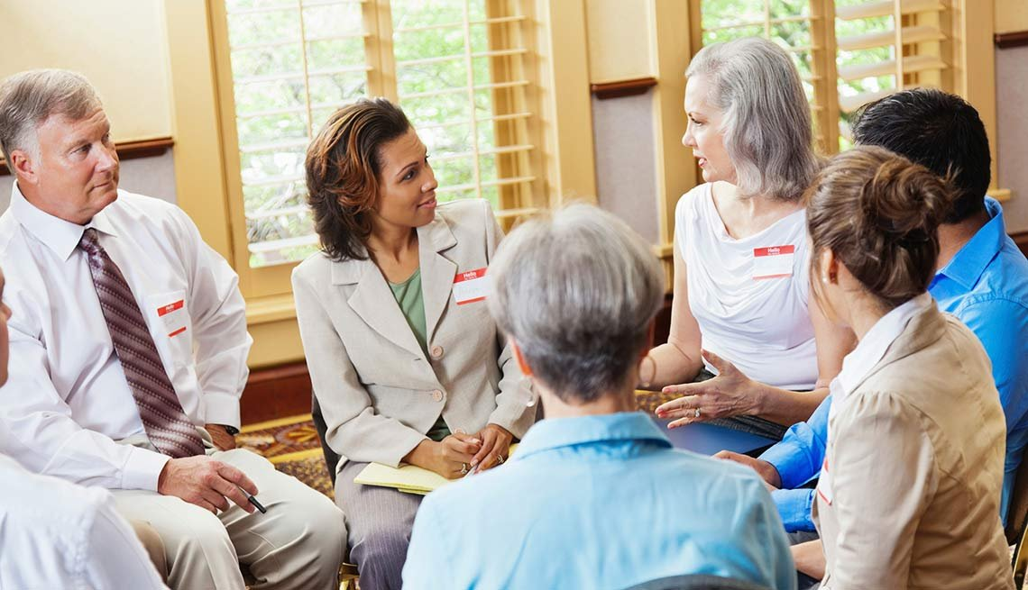 Diverse support group. Find support for caregivers.