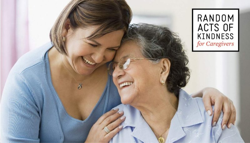 Random Acts of Kindness for Caregivers