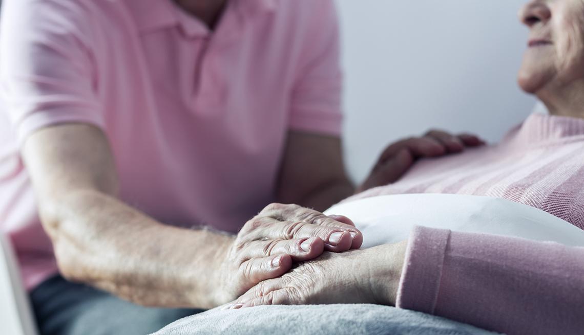 Managing Symptoms at the End of Life, Caregiving, AARP