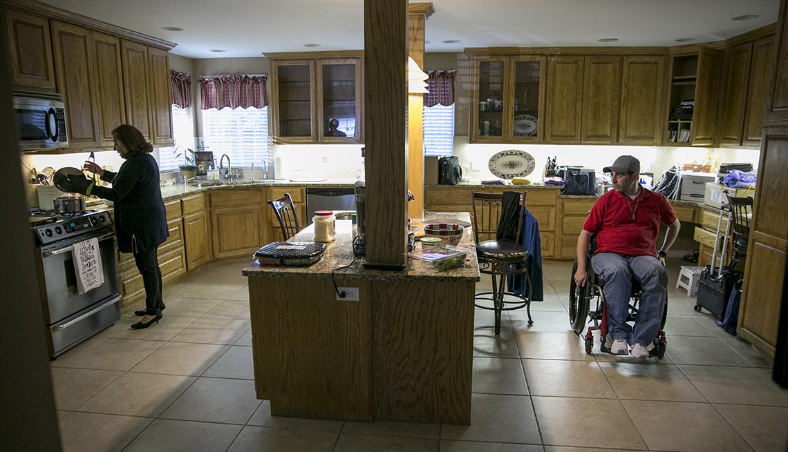 La cocina del hogar, familia Babin