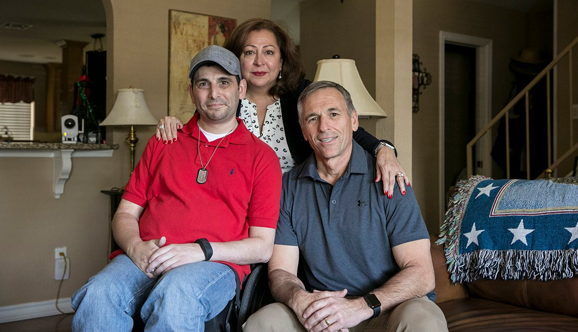 Changing Roles Caregiving, Babin Family