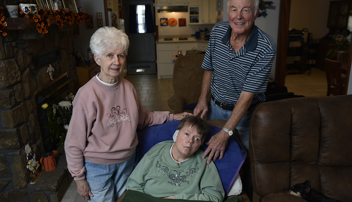 Changing Roles Caregiving, Clayborn Family