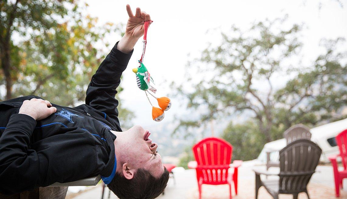 Kevin Conover padece síndrome de Down