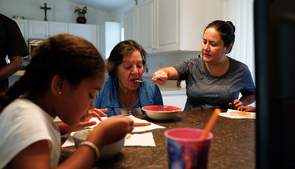 Changing Roles Caregiving, Garcia Family