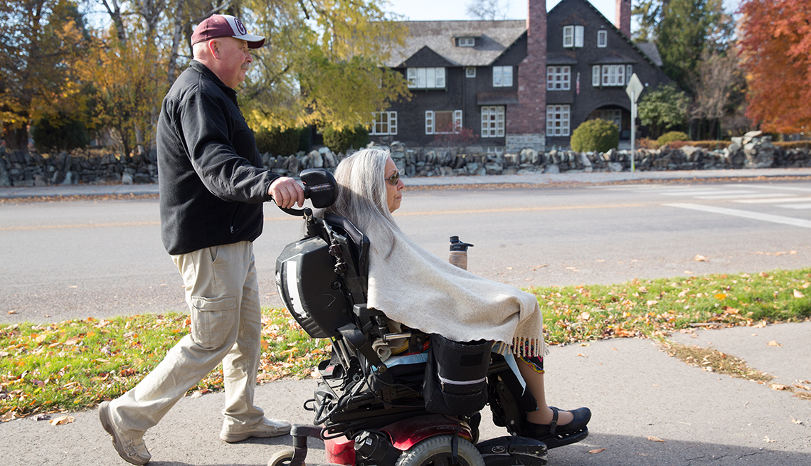Changing Roles Caregiving, Ridenour Family