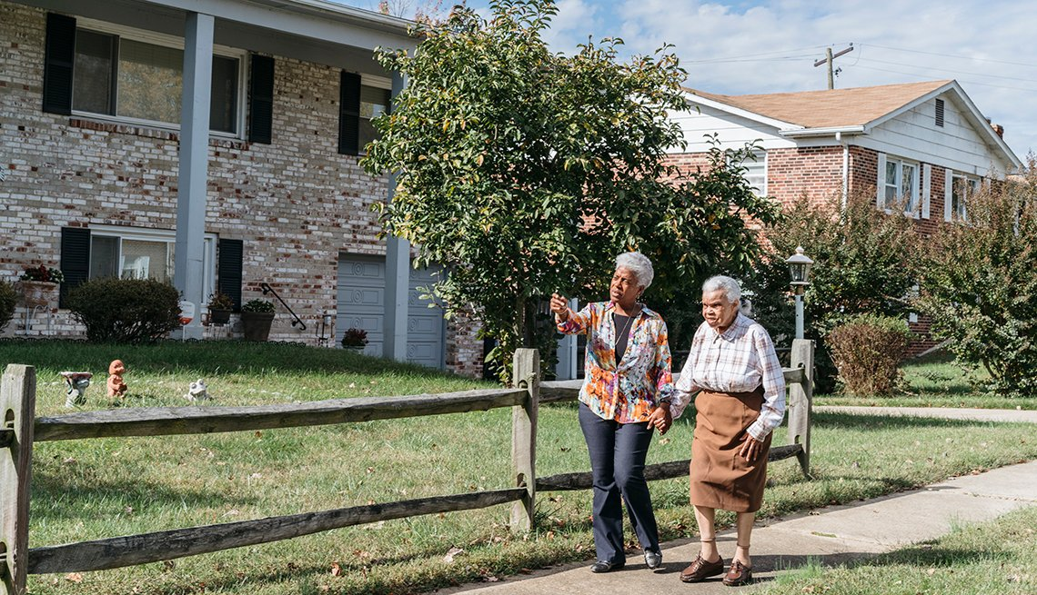 Changing Roles Caregiving, Veney Family