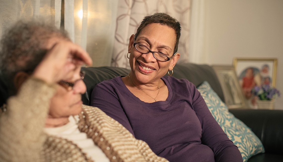 Changing Roles Caregiving, Yarbough Family