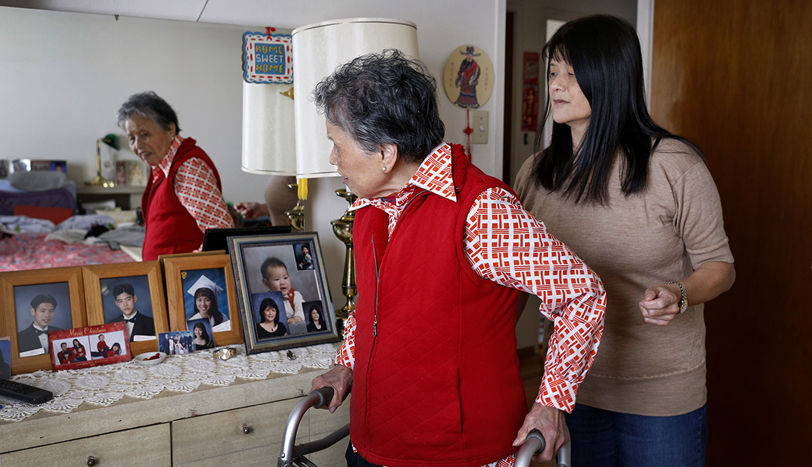 Changing Roles Caregiving, Chun Family