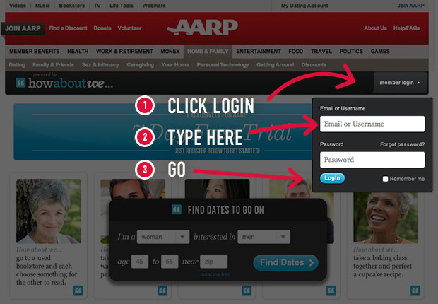 AARP Joins Up With A New Dating Website Just For Seniors