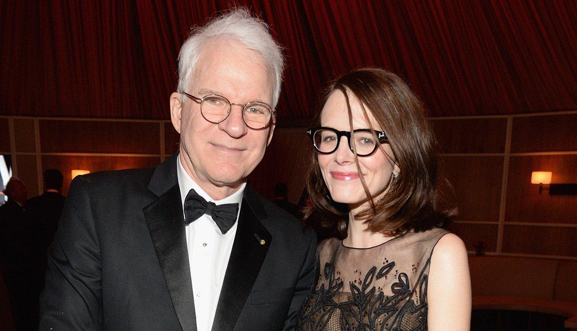 Steve Martin y Anne Stringfield - Matrimonios de famosos con una gran diferencia de edad