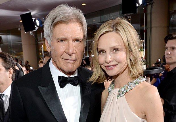 Matrimonios de famosos con una gran diferencia de edad - Harrison Ford y Calista Flockhart