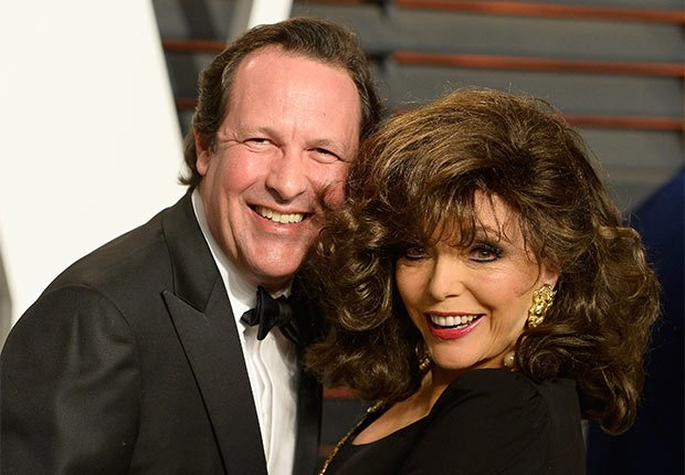 May/December Celebrity Romances, Joan Collins and Percy Gibson