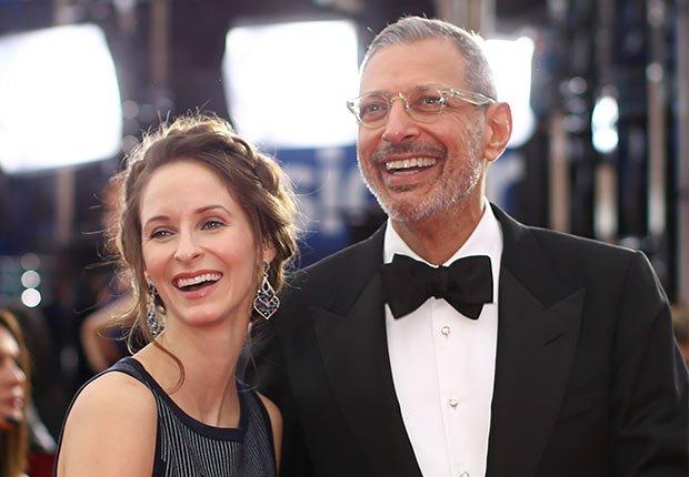 Jeff Goldblum y Emilie Livingston - Matrimonios de famosos con una gran diferencia de edad