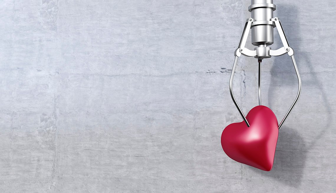 3D Rendering, Drawing Of Heart Held By Grappling Hook, Home And Family, Dating, When Should You Contact Your First Love