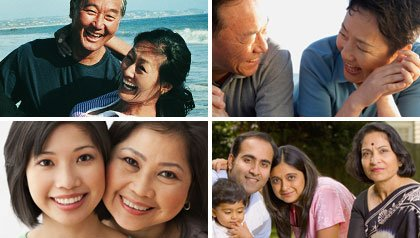 Asian families