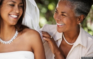 Mother and daughter bride, Talking to adult children about marriage