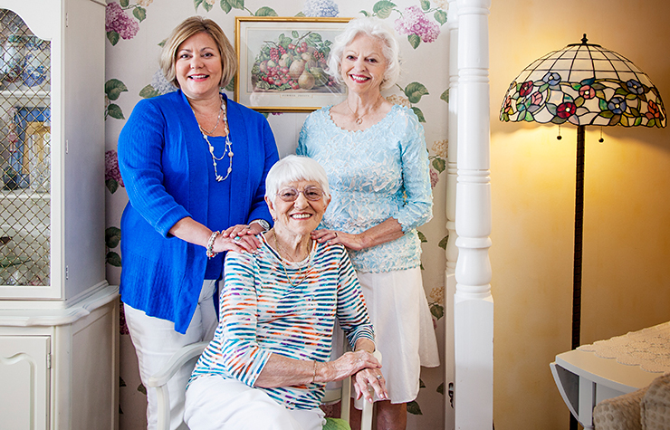 3 Generations of AARP Members: Nancy Bell, Kendra Bell, Lucille Elliott, Kansas City, MO