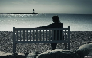Loneliness Depression with Hope of Guidance and Direction (Getty Images)