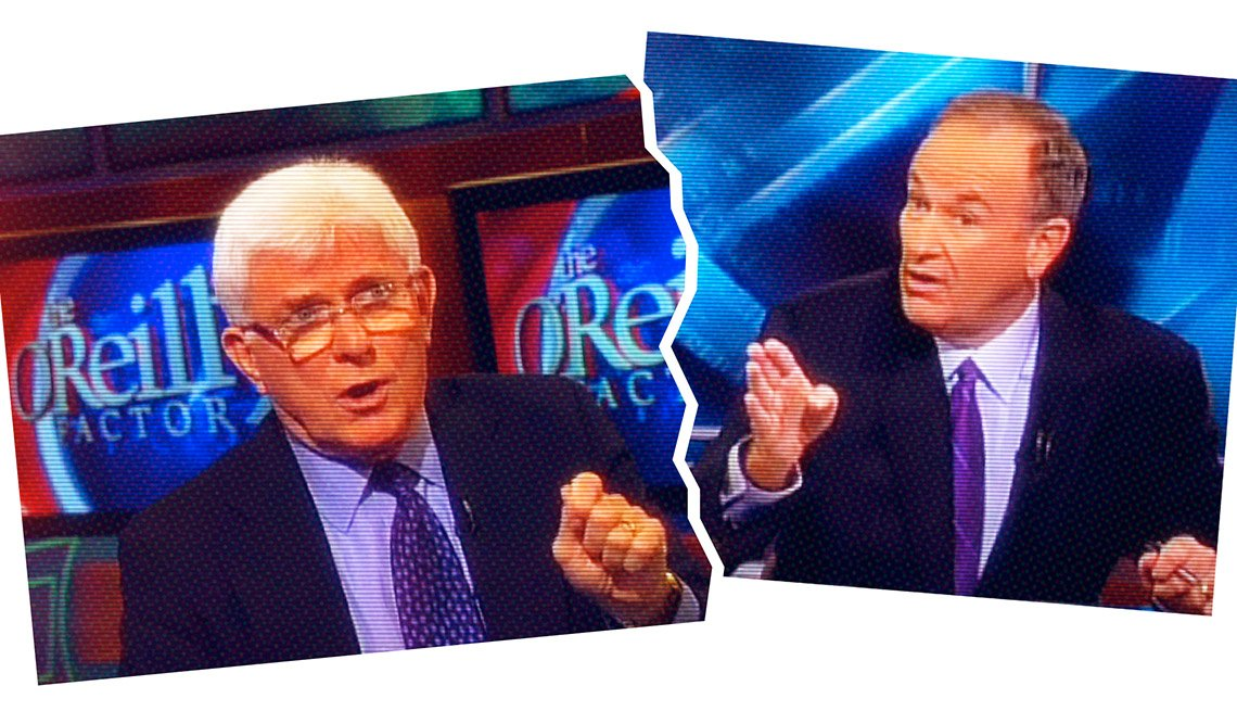 Phil Donahue y Bill O'Reilly