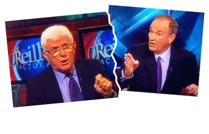 Foto que muestra The O'Reilly Factor. Articulo de Marlo Thomas sobre la forma de llevarse bien con personas que tienen diferentes políticas que tú.