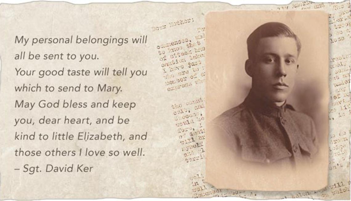 Last Letters Home - Final Words From Fallen Warriors- Sgt. David Ker
