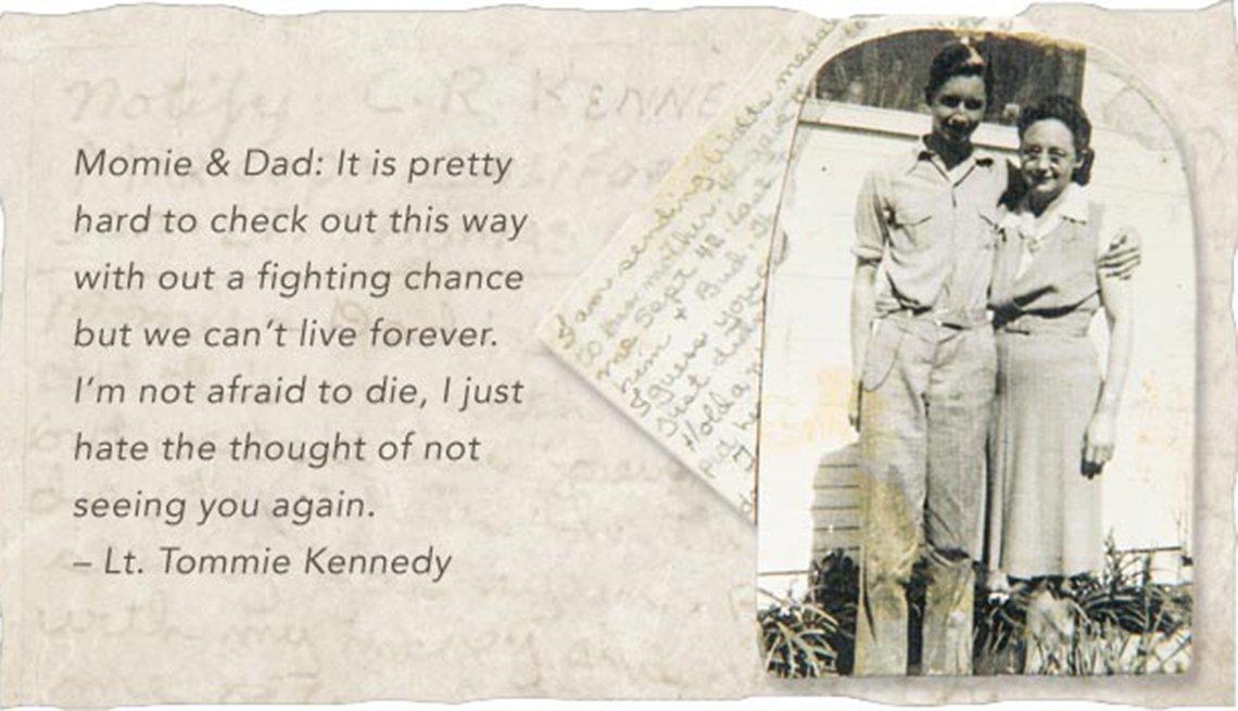 Last Letters Home - Final Words From Fallen Warriors - Lt. Tommie Kennedy