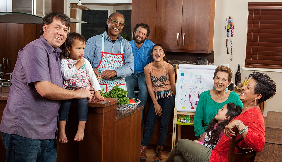Blended Family, Mixed Race, Modern Family, AARP, Home and Family