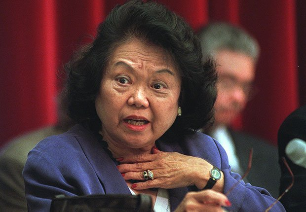 Rep. Patsy Mink. A Celebration of Asian-American Heritage Month.