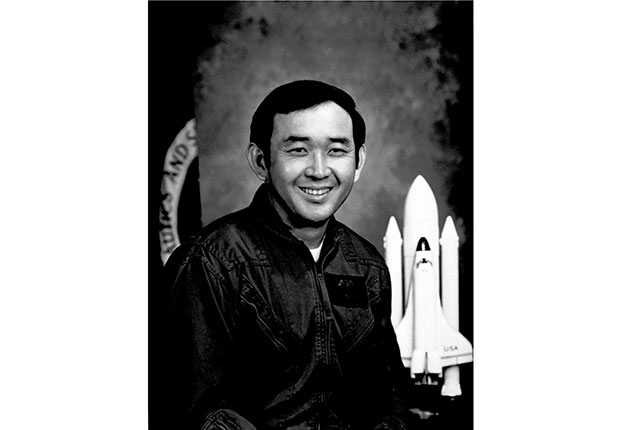 Astronaut Ellison Onizuka. A Celebration of Asian-American Heritage Month.