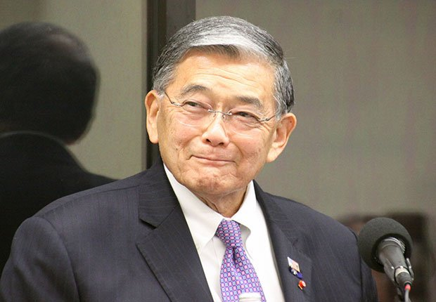 Norm Mineta, former U.S. Secretary of Transportation. A Celebration of Asian-American Heritage Month.
