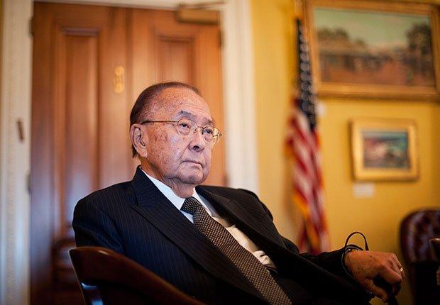 Sen. Daniel Inouye. A Celebration of Asian-American Heritage Month.