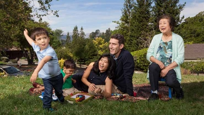 elder living at home modern family blended aarp
