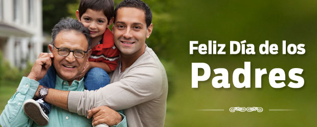 Feliz Día de los Padres