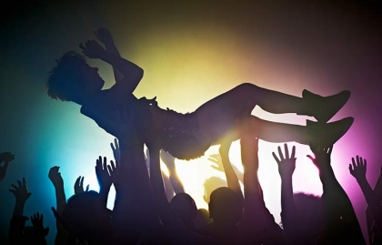 ten things should never do again after age 50 crowd surf mosh pit