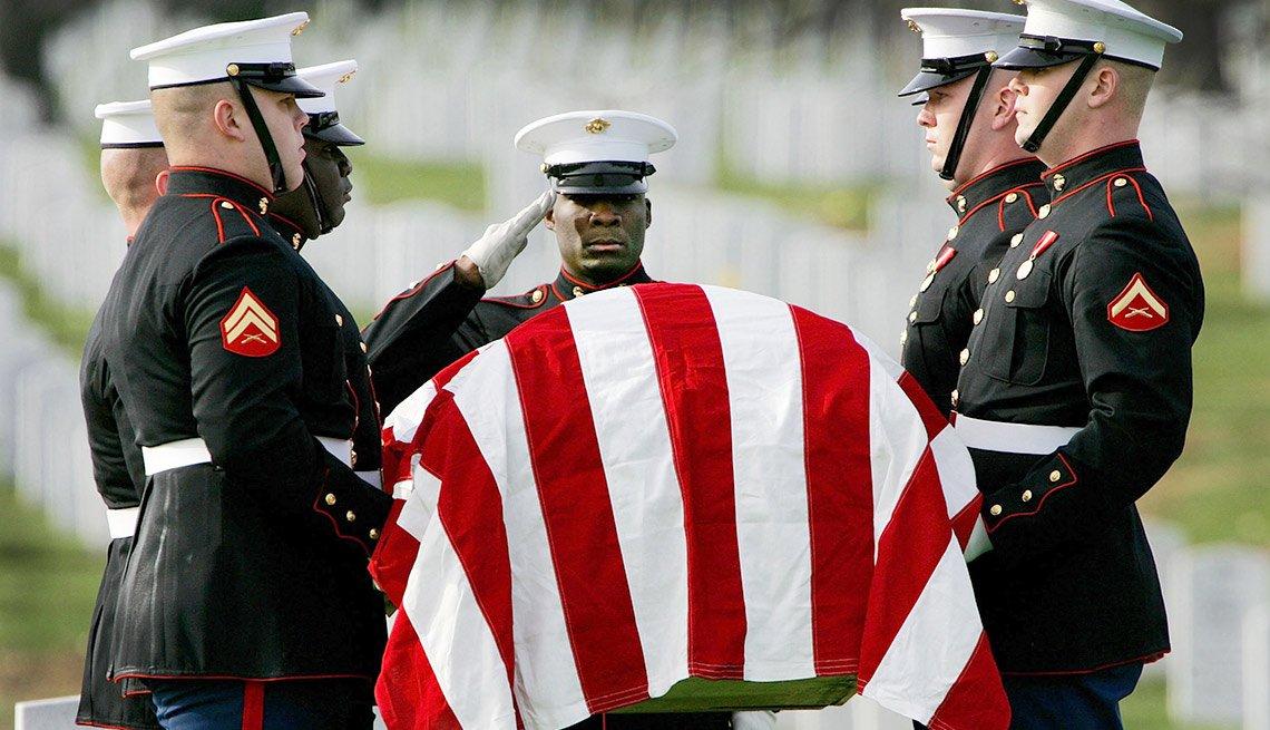 Beneficios de entierro para veteranos