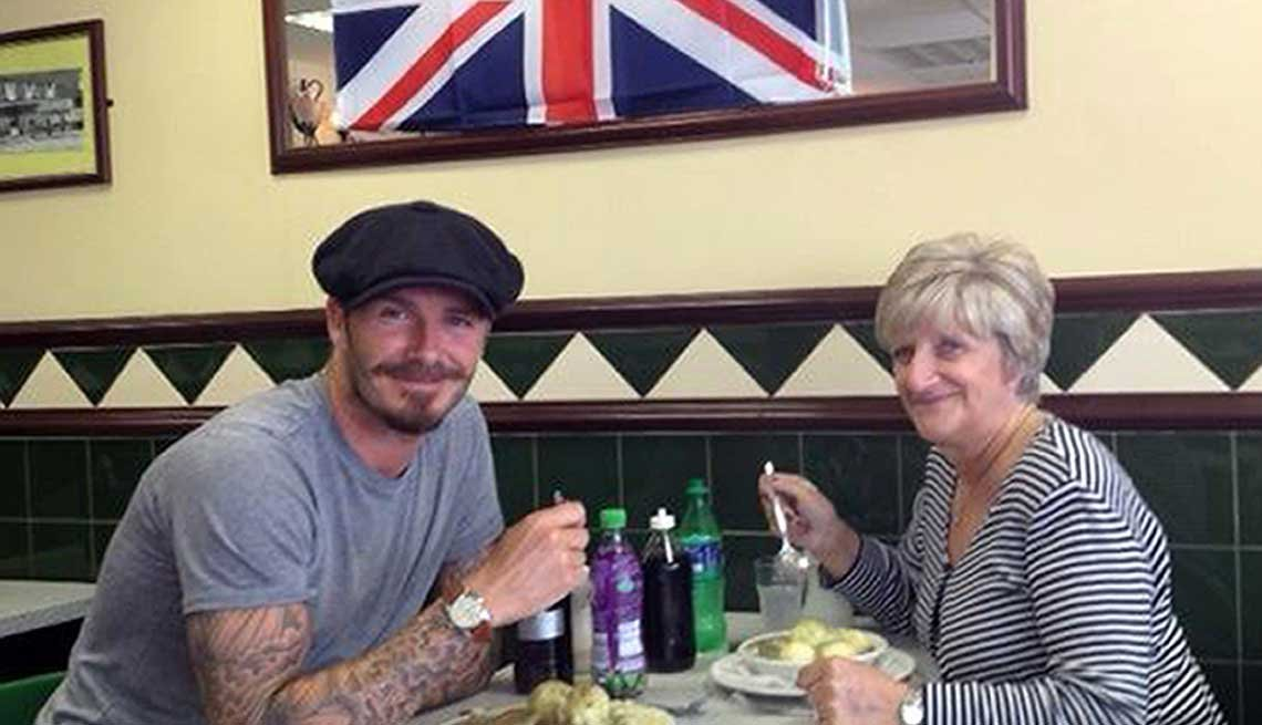 David Beckham, Athlete, Soccer, Celebrity Mother's Day Gifts