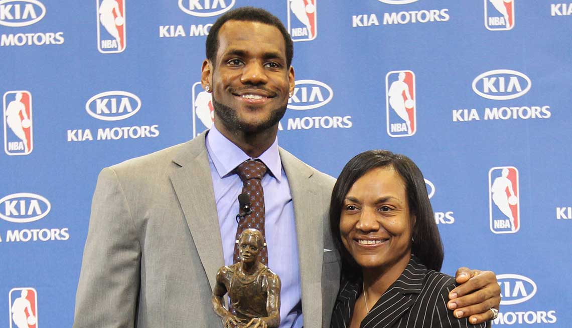 LeBron James, Athlete, Basketball, NBA, Celebrity Mother's Day Gifts